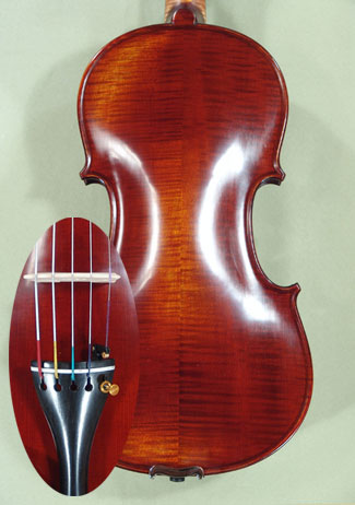Antiqued 4/4 PROFESSIONAL 'GAMA' Five Strings Violin - by Gliga