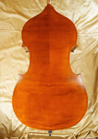 Antiqued 1/4 School 'GENIAL 1-Oil' Double-Bass - by Gliga