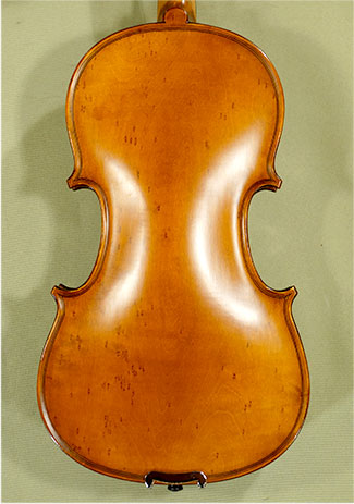 Antiqued 3/4 Student 'GEMS 2' Bird's Eye Maple One Piece Back Vi