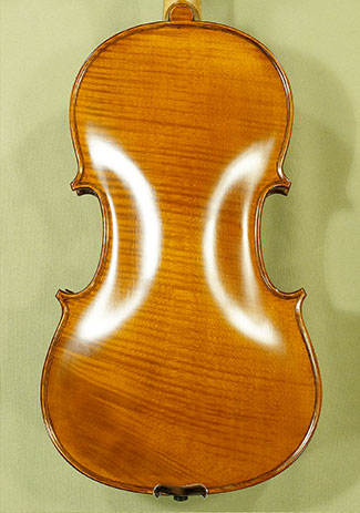 "Antiqued 15.5"" Student 'GEMS 2' One Piece Back Viola - by Gliga"