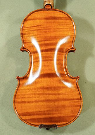 1/4 MAESTRO VASILE GLIGA One Piece Back Violin  - by Gliga