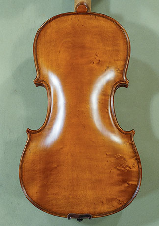 "Antiqued 15"" Student 'GEMS 2' Bird's Eye Maple One Piece Back Vi"
