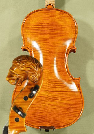 4/4 MAESTRO VASILE GLIGA 'Lion' Scroll Violin - by Gliga
