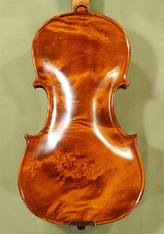 4/4 MAESTRO VASILE GLIGA Wild Bird\\'s Eye Maple One Piece Back