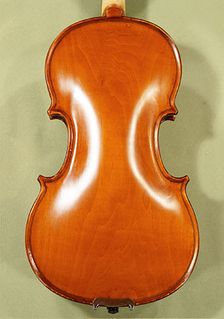 1/2 School 'GENIAL 1-Oil' Poplar One Piece Back Violin  - by Gli