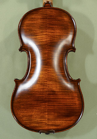 Stained Antiqued 4/4 PROFESSIONAL 'GAMA Super' Violin - by Gliga