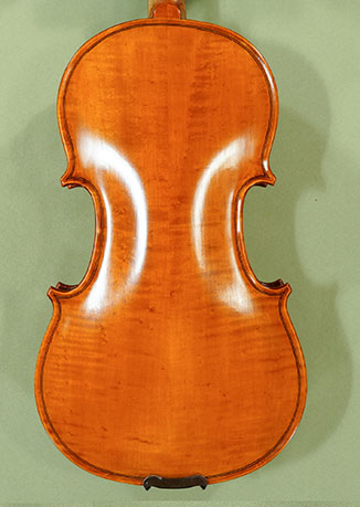 Antiqued 1/2 WORKSHOP 'GEMS 1' Bird's Eye Maple Violin  - by Gli