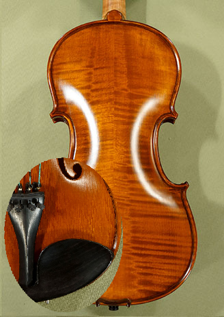 "Antiqued 14"" Student 'GEMS 2' Left Handed Viola - by Gliga"