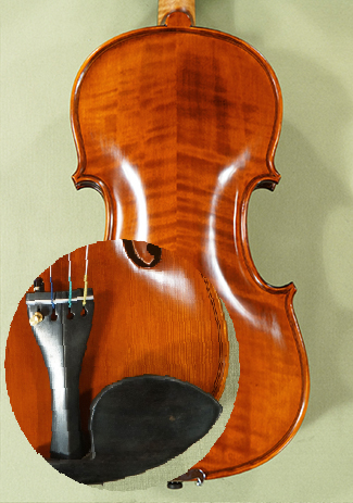Antiqued 4/4 PROFESSIONAL 'GAMA' Left Handed Violin - by Gliga