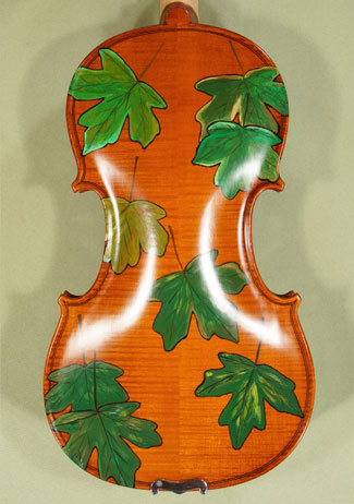 4/4 WORKSHOP 'GEMS 1' Leaves Violin on sale