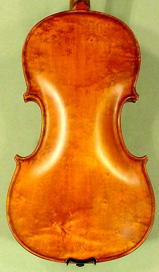 Antiqued 4/4 ADVANCED Student 'GEMS 2' Bird's Eye Maple One Piece Back Violin on sale