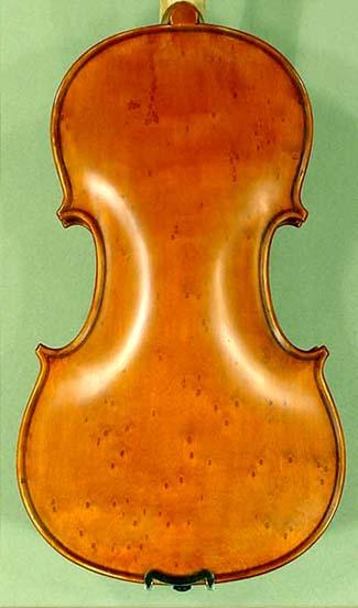 Antiqued 4/4 ADVANCED Student 'GEMS 2' Bird's Eye Maple One Piece Back Violin on sale