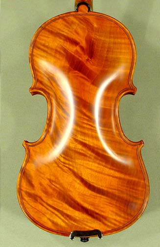 1/10 PROFESSIONAL \'GAMA Super\' Wild Maple One Piece Back Violin on sale