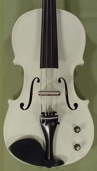 4/4 School 'GENIAL 1-Oil' Electric White Violin on sale