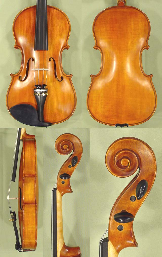 "Antiqued 15.5"" School 'GENIAL 1-Oil' Viola"