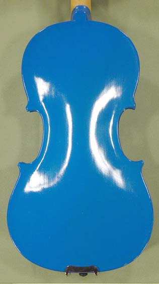 1/2 School \'GENIAL 1-Oil\' Blue Violin  on sale
