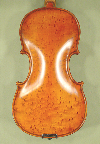 Antiqued 7/8 WORKSHOP 'GEMS 1' Bird's Eye Maple One Piece Back Violin on sale