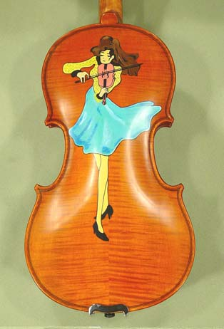 1/2 ADVANCED Student 'GEMS 2' Violin Player Violin on sale