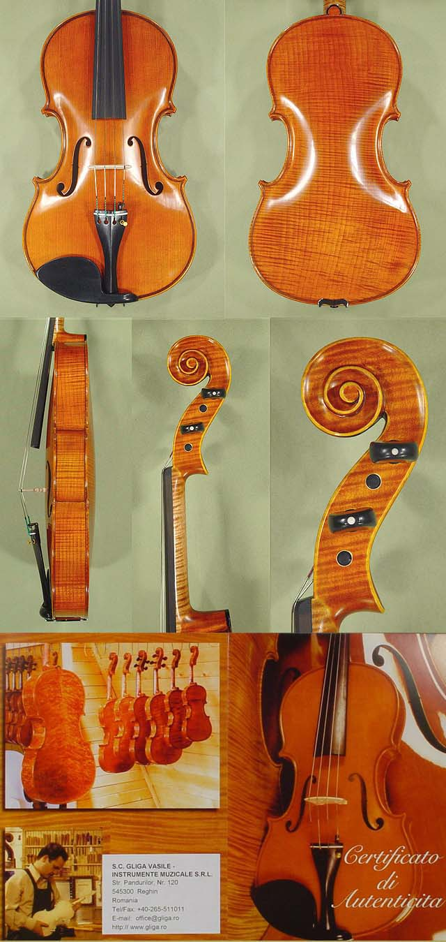 "16.5"" MAESTRO VASILE GLIGA One Piece Back Viola"
