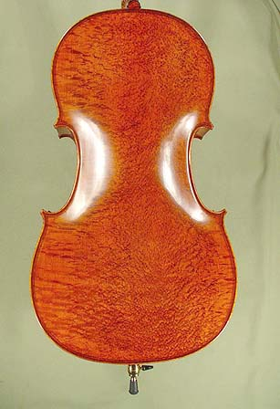 4/4 MAESTRO VASILE GLIGA Inlaid Double Purfling Bird's Eye Maple One Piece Back Cello on sale
