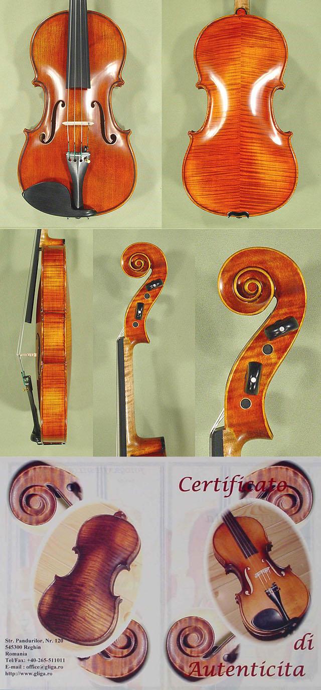 """Antiqued 16"""" MAESTRO GLIGA Viola"""