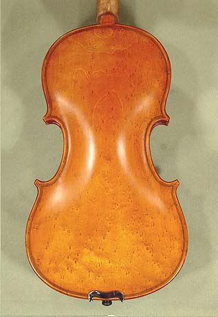 Antiqued 3/4 ADVANCED Student 'GEMS 2' Bird's Eye Maple One Piece Back Violin on sale