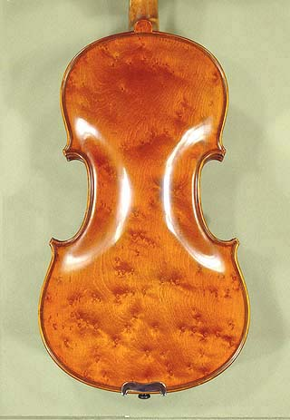4/4 PROFESSIONAL 'GAMA' Left Handed Bird's Eye Maple One Piece Back Violin on sale