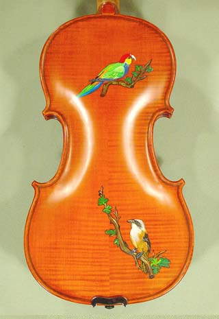 4/4 WORKSHOP 'GEMS 1' Birds Violin on sale