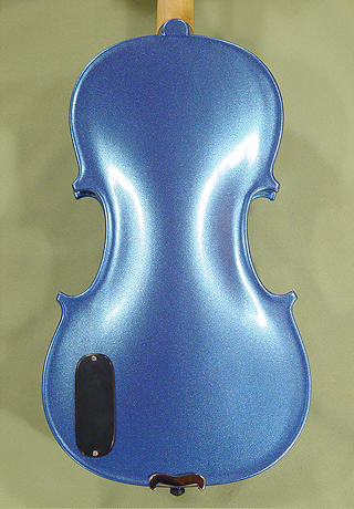 Metallic 4/4 ADVANCED Student 'GEMS 2' Electric Blue Violin on sale