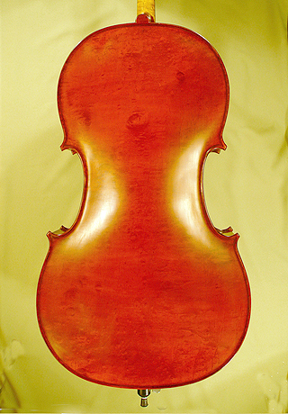 4/4 WORKSHOP 'GEMS 1' Bird's Eye Maple One Piece Back Cello on sale