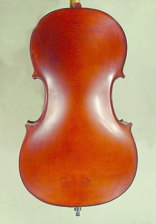 4/4 ADVANCED Student 'GEMS 2' Bird's Eye Maple One Piece Back Cello on sale