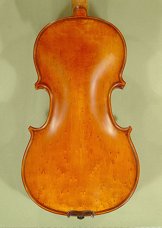 Antiqued 1/2 WORKSHOP 'GEMS 1' Bird's Eye Maple One Piece Back Violin on sale