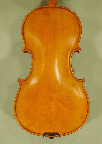 Antiqued 1/2 School 'GENIAL 1-Oil Special' Bird's Eye Maple One Piece Back Violin on sale