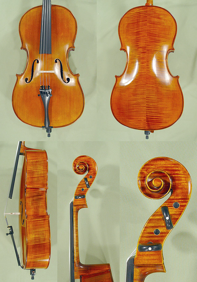 Antiqued 1/2 PROFESSIONAL 'GAMA' Cello