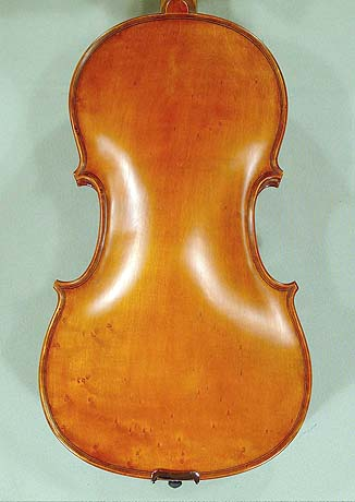 "Antiqued 16"" WORKSHOP 'GEMS 1' Bird's Eye Maple One Piece Back Viola"