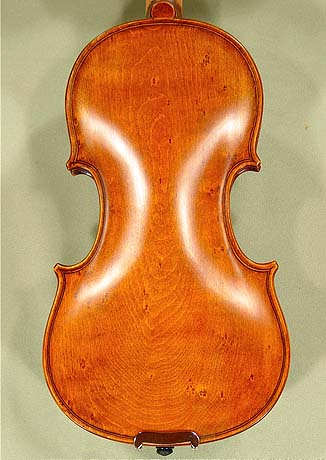 Antiqued 1/4 ADVANCED Student 'GEMS 2' Bird's Eye Maple One Piece Back Violin on sale