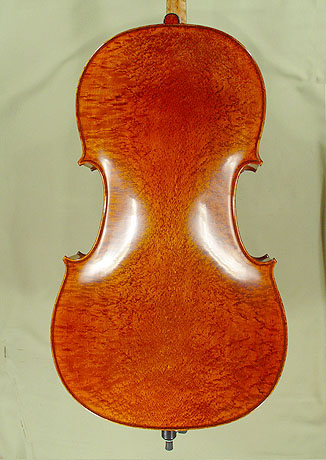 4/4 MAESTRO VASILE GLIGA Bird\'s Eye Maple One Piece Back Cello  on sale