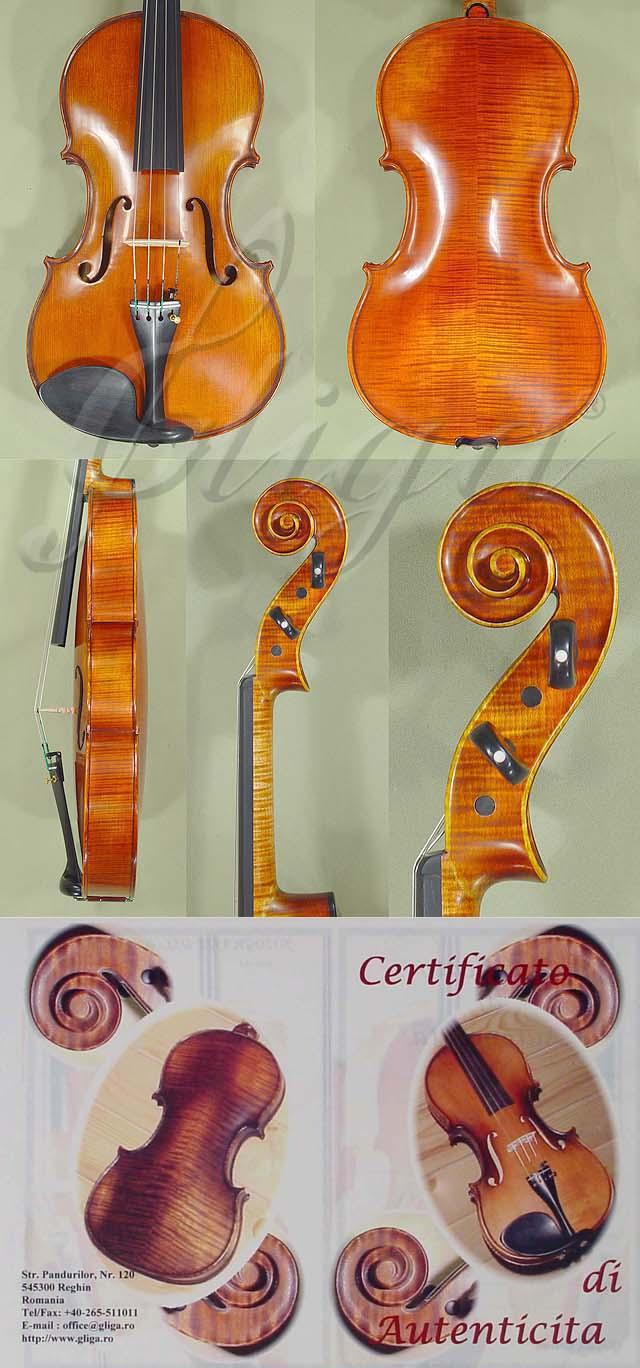 """Antiqued 16.5"""" MAESTRO GLIGA Viola"""