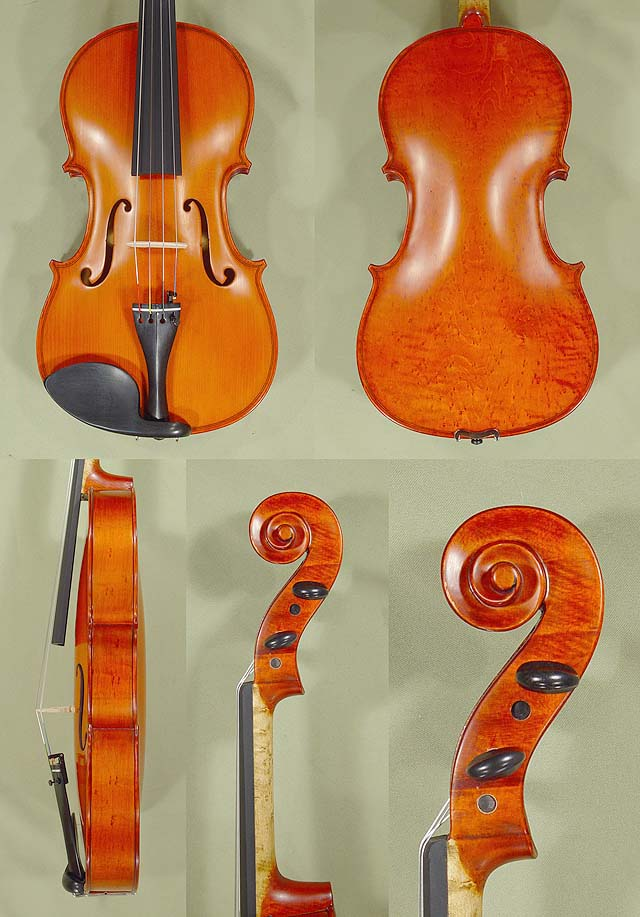 "16"" WORKSHOP 'GEMS 1' Bird's Eye Maple One Piece Back Viola"