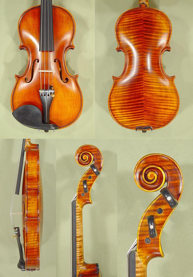 Antiqued 1/2 PROFESSIONAL 'GAMA Super' Violin