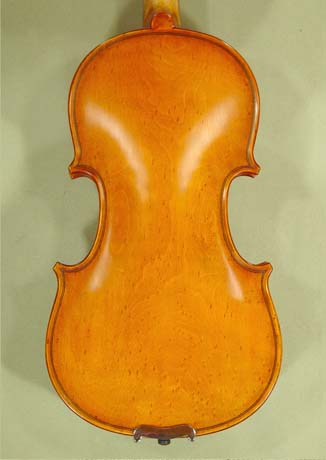 Antiqued 1/4 ADVANCED Student 'GEMS 2' Bird's Eye Maple One Piece Back Violin