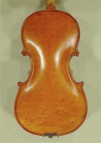 7/8 WORKSHOP \'GEMS 1\' Bird\'s Eye Maple One Piece Back Violin on sale