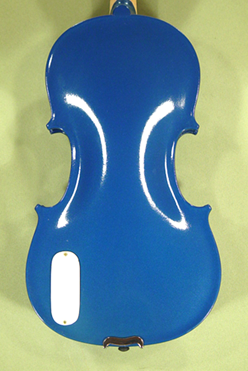 Metallic 4/4 ADVANCED Student \'GEMS 2\' Electric Blue Violin on sale