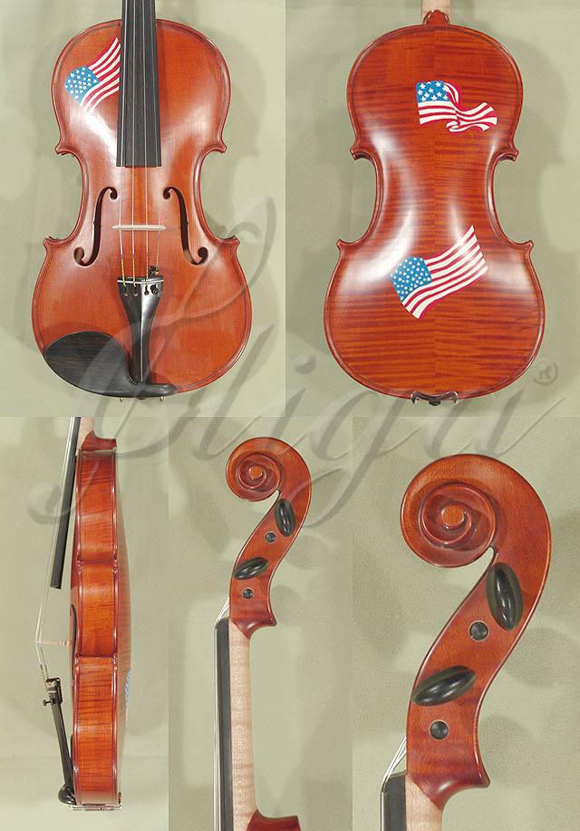 4/4 WORKSHOP 'GEMS 1' USA Flag Violin