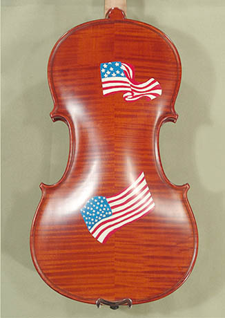4/4 WORKSHOP 'GEMS 1' US Flag Violin on sale