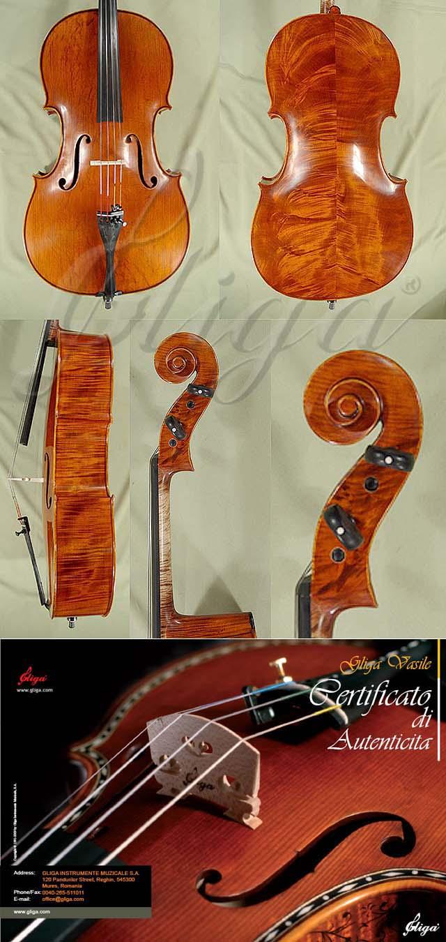 4/4 MAESTRO VASILE GLIGA Wild Maple Cello