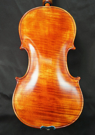 Antiqued Spirit Varnish 4/4 CERUTI MAESTRO One Piece Back Violin - \'Feel the Grain!\' on sale