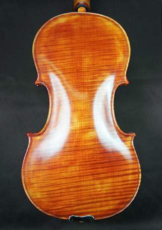 Regular Spirit Varnish 4/4 CERUTI MAESTRO One Piece Back Violin - \'Feel the Grain!\' on sale