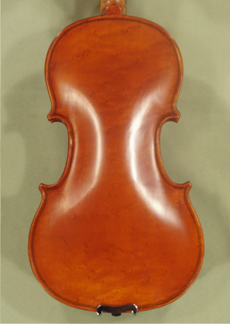 Antiqued 1/2 WORKSHOP \'GEMS 1\' Bird\'s Eye Maple One Piece Back Violin  on sale