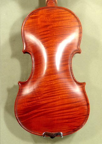 Antiqued 1/4 WORKSHOP 'GEMS 1' Wild Maple One Piece Back Violin on sale
